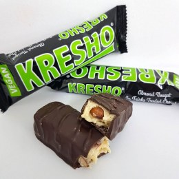 Kresho Bar Chocolate Covered Almond Nougat 45gm