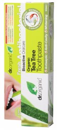 Toothpaste (Whitening) Organic Tea Tree 100ml