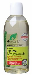 Mouthwash Organic Tea Tree 500ml