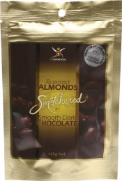 Roasted Almonds Dark Chocolate Almonds 125gm