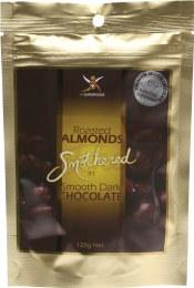 Roasted Almonds Dark Chocolate Almonds 125gm
