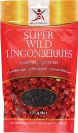 Super Wild Lingonberries Dried Wild Lingonberries 125gm