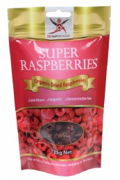 Super Raspberries Organic Dried Raspberries 125gm
