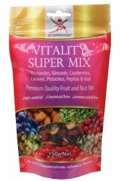 Vitality Super Mix Premium Quality Fruit & Nut Mix 150gm
