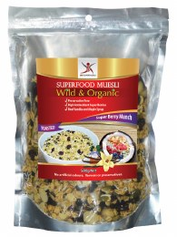 Superfood Muesli Super Berry Munch - Toasted 500gm
