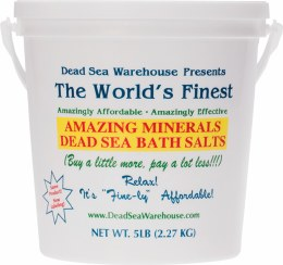 Dead Sea Bath Salts Bucket 2.27kg