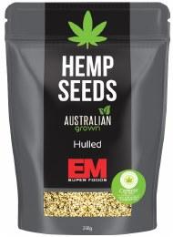 Hemp Seeds - Hulled Australian Grown 250gm