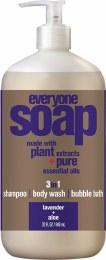 3 in 1 Soap Lavender + Aloe 946ml