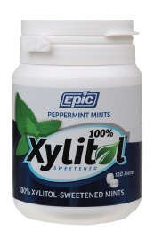 Xylitol Dental Mints Peppermint 180 Pieces