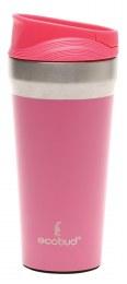 Vacuum Insulated Mug Stainless Steel - Pink 400ml