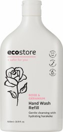 Hand Wash (Refill) Rose & Geranium 500ml