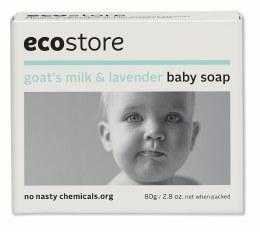 Baby Soap Goat's Milk & Lavender 80gm