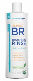 Toothpaste/Mouthwash Brushing Rinse - Peppermint 473ml