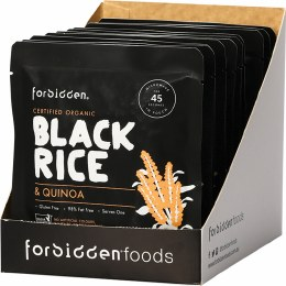Black Rice & Quinoa 10 x 125gm Packets