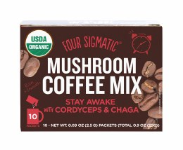 Mushroom Coffee Mix With Cordyceps & Chaga 10 Packets