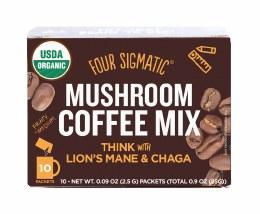 Mushroom Coffee Mix With Lion's Mane & Chaga 10 Packets