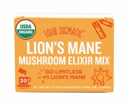 Mushroom Elixir Mix With Lion's Mane 20 Packets