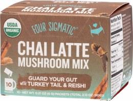 Mushroom Chai Latte Mix Packets With Turkey Tail & Reishi