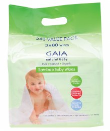 Baby Wipes Bamboo Wipes - Value Pack 240