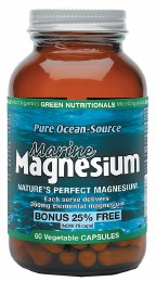 Marine Magnesium VegeCaps (260mg) 60 Caps