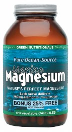 Marine Magnesium VegeCaps (260mg) Large 120 Caps