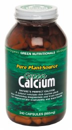 Green Calcium (Plant Source) Capsules (883mg) Large 240 Caps