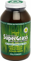 Organic Supergrass Powder - Amber Glass