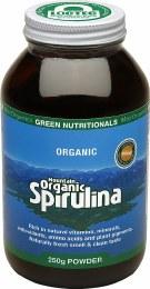Mountain Organic Spirulina Powder - Amber Glass
