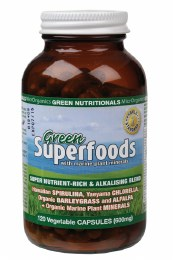 Green Superfoods VegeCaps (600mg) 120 Caps