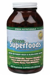 Green Superfoods VegeCaps (600mg) 250 Caps