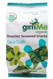 Roasted Seaweed Snacks Sea Salt 10gm