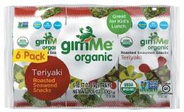 Roasted Seaweed Snacks Teriyaki 6 Pack 6x5gm