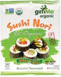 Roasted Seaweed Sushi Nori (10 Sheets) 23gm