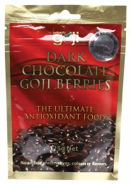 Chocolate Goji Berries Dark Chocolate 125gm