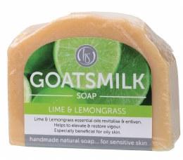 Goat's Milk Soap Lime & Lemongrass 140gm