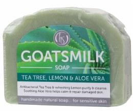Goat's Milk Soap Tea Tree & Lemon 140gm