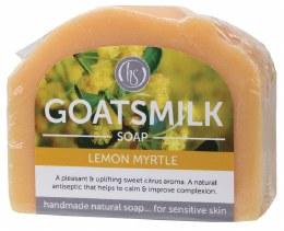 Goat's Milk Soap Lemon Myrtle 140gm