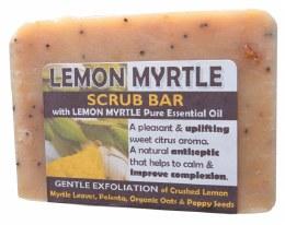 Soap Scrub Bar - Lemon Myrtle 140gm