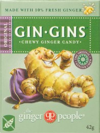 Gin Gins Ginger Candy Chewy - Original 42gm