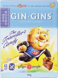 Gin Gins Ginger Candy Super Strength 84gm