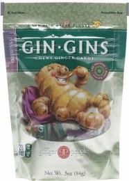 Gin Gins Ginger Candy Bag Chewy - Original 84gm
