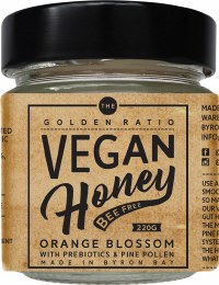 Vegan Honey Orange Blossom with Prebiotics 220gm