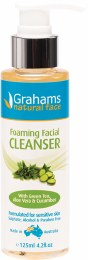 Foaming Facial Cleanser With Green Tea, Aloe & Cucumber