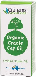 Certified Organic Cradle Cap Oil With Comb