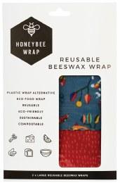 Reusable Beeswax Wrap 2 x Large