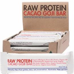 Raw Protein Bar Cacao Goji - Box of 12