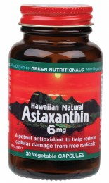 Hawaiian Natural Astaxanthin VegeCaps (6mg) 30 Caps