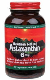 Hawaiian Natural Astaxanthin VegeCaps (6mg) 90 Caps
