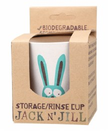 Storage/Rinse Cup Bunny (Biodegradable Cup) 1