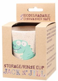 Storage/Rinse Cup Dino (Biodegradable Cup) 1